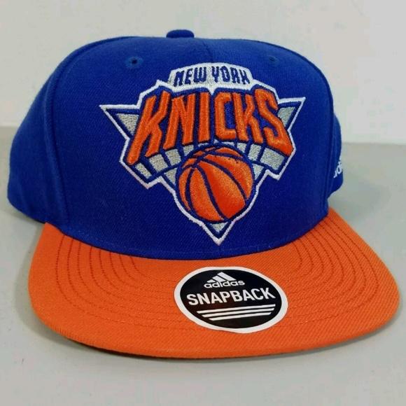 9de6910acdc adidas Other - New York Knicks Snapback Hat Cap Adidas NBA